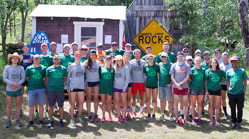 Camp staff from session two, 2015