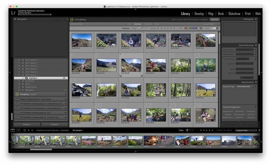 Uploading session one highlights
