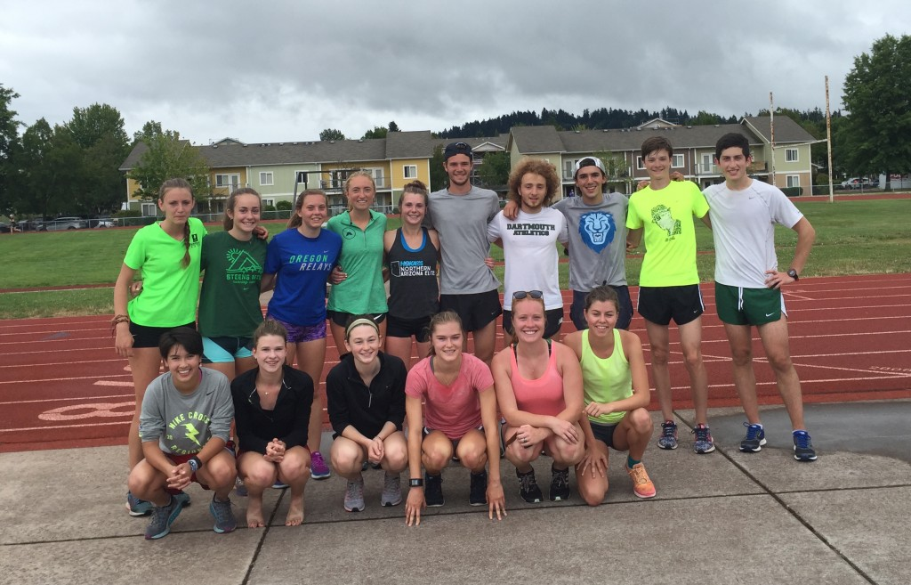 Steens Reunion Run at the Olympic Trials